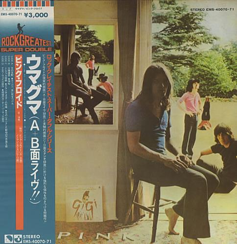 Pink Floyd Ummagumma 2-LP vinyl record set (Double Album) Japanese PIN2LUM153761