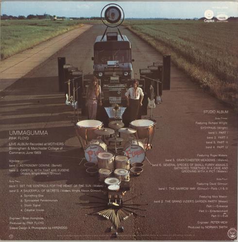 Pink Floyd Ummagumma 2-LP vinyl record set (Double Album) US PIN2LUM412293