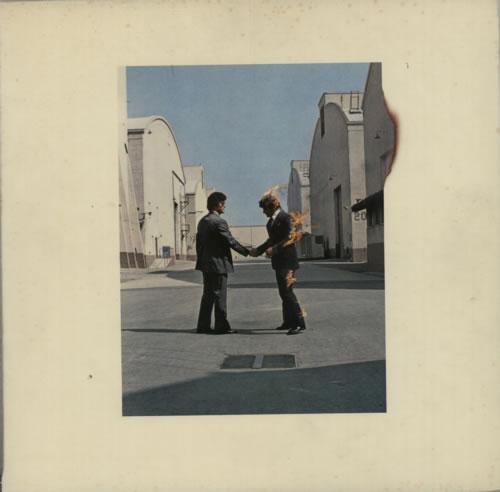 Pink Floyd Wish You Were Here + Poster/Postcard - VG vinyl LP album (LP record) Japanese PINLPWI623024