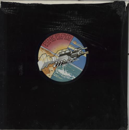 Pink Floyd Wish You Were Here - 1st (B) Complete + Shrink- EX vinyl LP album (LP record) UK PINLPWI736132
