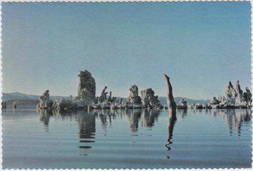 Pink Floyd Wish You Were Here - 1st + Postcard - EX vinyl LP album (LP record) UK PINLPWI28931