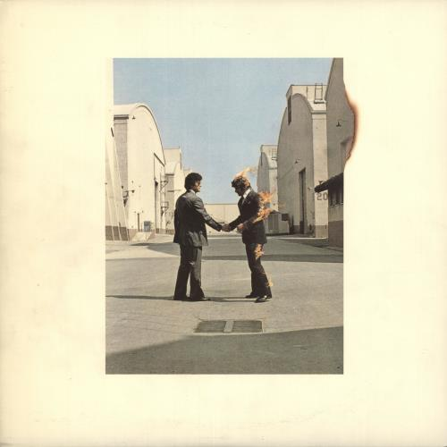 Pink Floyd Wish You Were Here - 2 Obi Stickers vinyl LP album (LP record) Japanese PINLPWI455663
