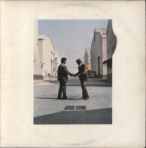 Pink Floyd Wish You Were Here - 2nd + Postcard vinyl LP album (LP record) UK PINLPWI601615