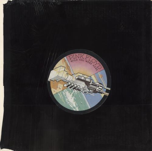 Pink Floyd Wish You Were Here - 2nd - Complete vinyl LP album (LP record) UK PINLPWI595955