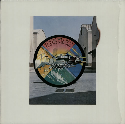 Pink floyd wish you were here barcoded sticker vinyl lp album lp record