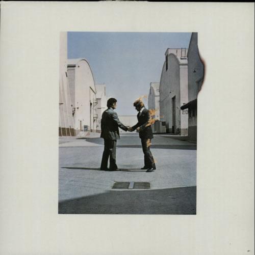Pink Floyd Wish You Were Here - Barcoded - EX vinyl LP album (LP record) UK PINLPWI592685