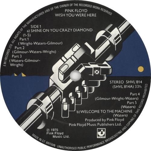 Pink Floyd Wish You Were Here - Nimbus Supercut vinyl LP album (LP record) UK PINLPWI108960