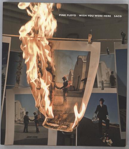 Pink Floyd Wish You Were Here - Super Audio CD - Sealed super audio CD SACD German PINSAWI716870