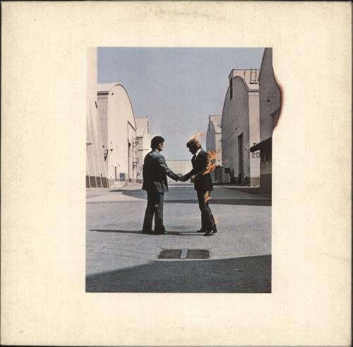 Pink Floyd Wish You Were Here vinyl LP album (LP record) German PINLPWI745813