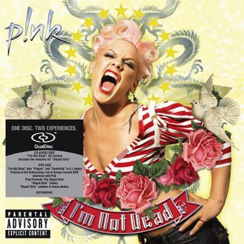 Pink I'm Not Dead Dual Disc UK P-KDUIM352911