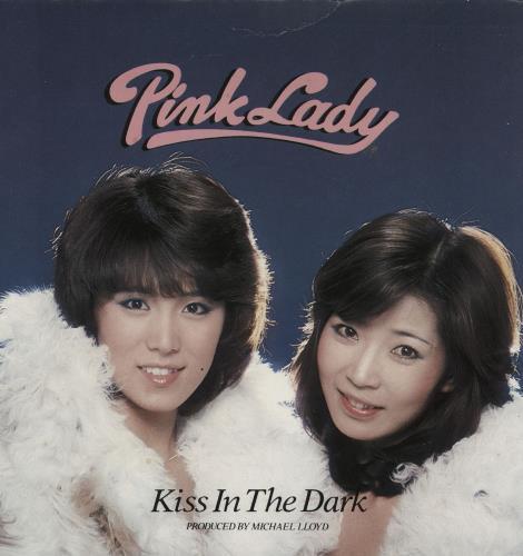 "Pink Lady Kiss In The Dark - Pink Vinyl 7"" vinyl single (7 inch record) UK P8N07KI759520"