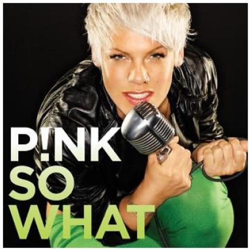 """Pink So What! CD single (CD5 / 5"""") UK P-KC5SO446179"""