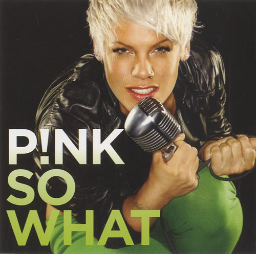 Pink So What 2-CD single set (Double CD single) US P-K2SSO457776