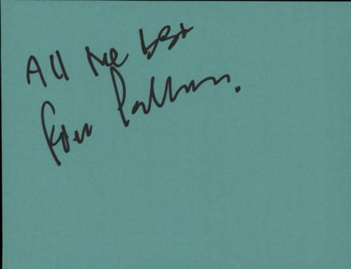 Pino Palladino Page From An Autograph Book memorabilia UK P7PMMPA608887