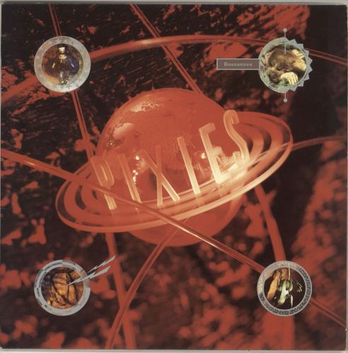 Pixies Bossanova - EX vinyl LP album (LP record) UK PIXLPBO728037