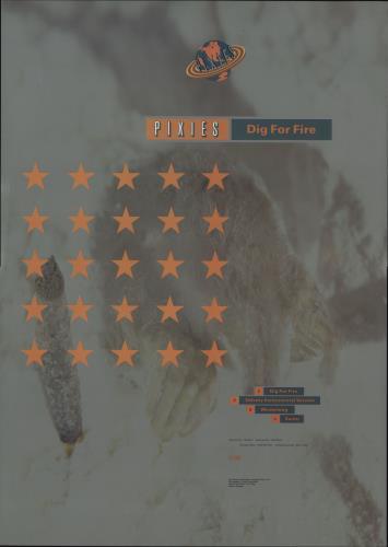 Pixies Dig For Fire poster UK PIXPODI681069