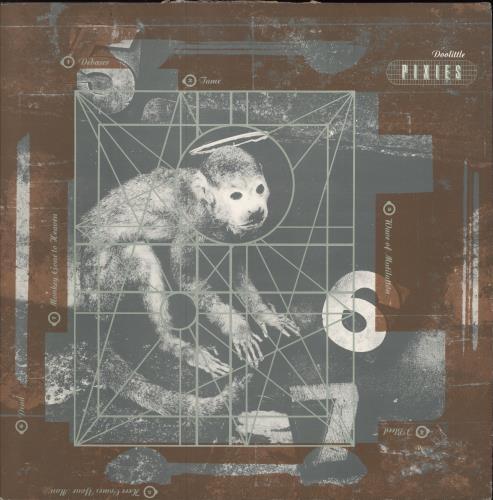 Pixies Doolittle - EX vinyl LP album (LP record) UK PIXLPDO752705