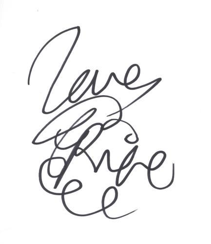 Pixie Lott Autograph memorabilia UK PXLMMAU717541