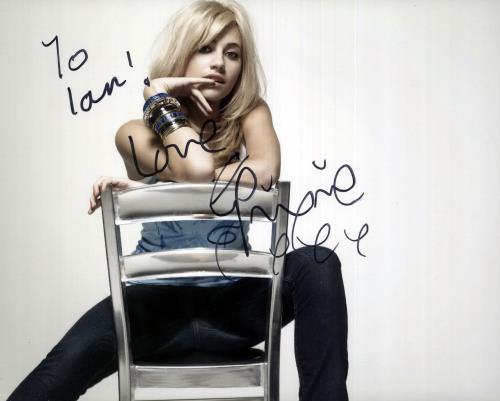 Pixie Lott Autographed Photograph photograph UK PXLPHAU739295