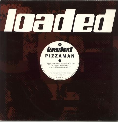 "Pizzaman Trippin On Sunshine 12"" vinyl single (12 inch record / Maxi-single) UK ZZA12TR696327"