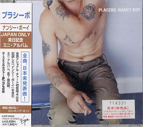 "Placebo Nancy Boy CD single (CD5 / 5"") Japanese CEBC5NA103165"