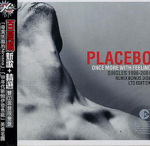 Placebo Once More With Feeling 2 CD album set (Double CD) Taiwanese CEB2CON310081