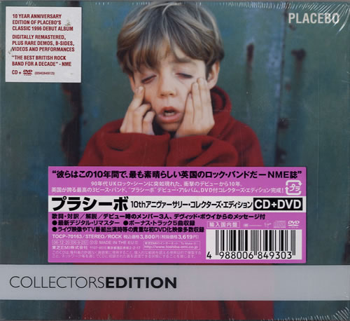 Placebo Placebo - 10th Anniversary Collectors Edtion 2-disc CD/DVD set Japanese CEB2DPL478846