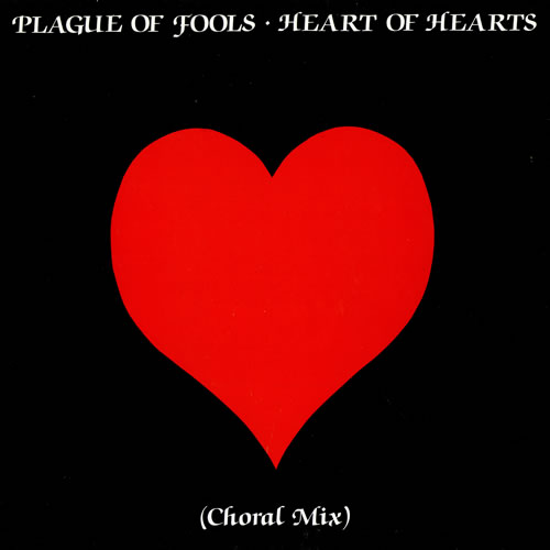"Plague Of Fools Heart Of Hearts - Choral Mix 12"" vinyl single (12 inch record / Maxi-single) UK PG512HE461389"