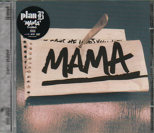 Plan B Mama DVD Single UK PCJDSMA636589