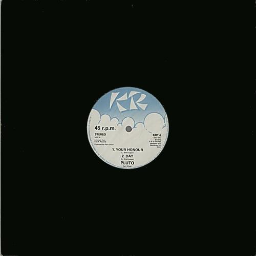 "Pluto Shervington Your Honour 12"" vinyl single (12 inch record / Maxi-single) UK PKZ12YO641503"
