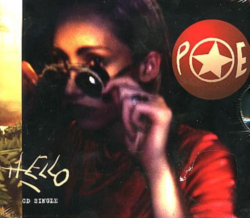 "Poe Hello CD single (CD5 / 5"") US POEC5HE289179"