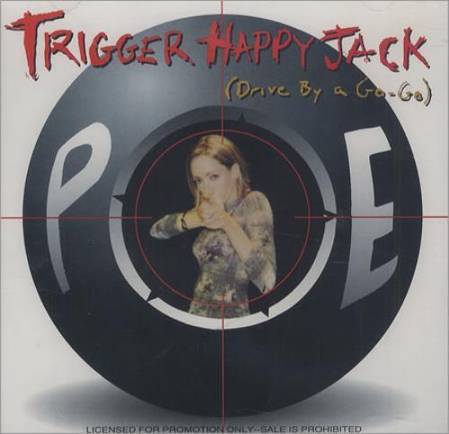 "Poe Trigger Happy Jack CD single (CD5 / 5"") US POEC5TR194345"