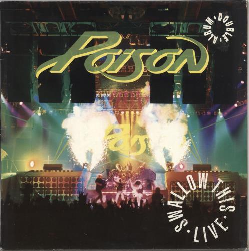 Poison Swallow This Live 2-LP vinyl record set (Double Album) UK POI2LSW727445