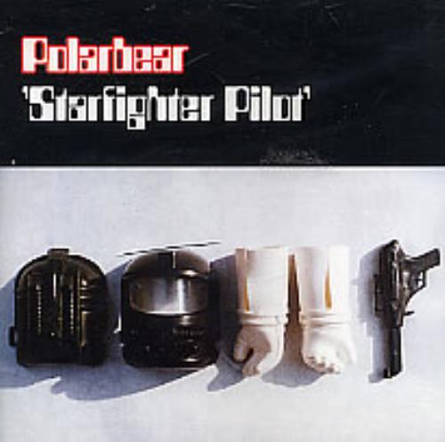 "Polarbear Starfighter Pilot CD single (CD5 / 5"") UK POBC5ST262972"