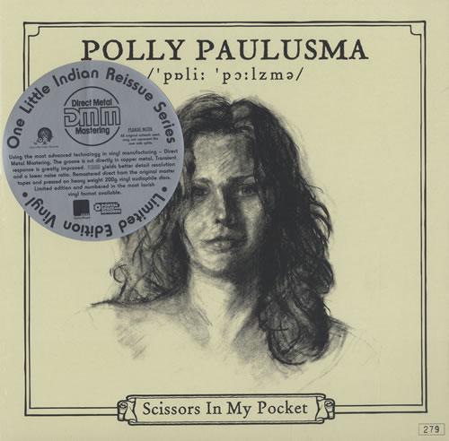 Polly Paulusma Scissors In My Pocket vinyl LP album (LP record) UK PASLPSC438191
