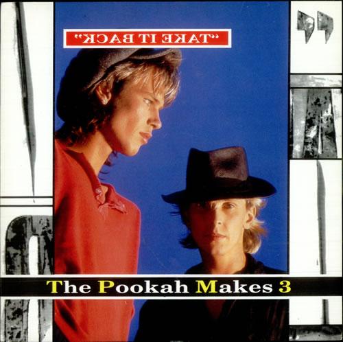 "Pookah Makes 3 Take It Back - Sleeve Variant 7"" vinyl single (7 inch record) UK PXS07TA515103"
