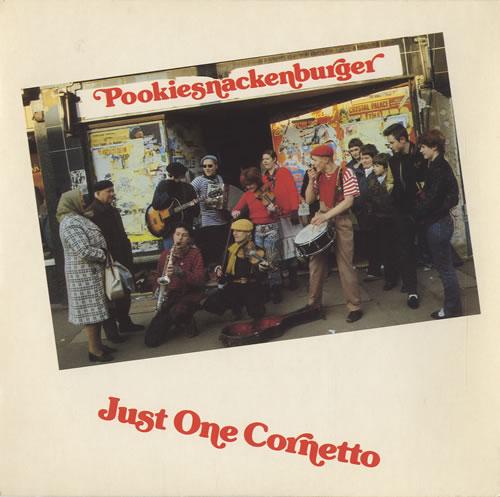 "Pookiesnackenburger Just One Cornetto 7"" vinyl single (7 inch record) UK P0007JU449118"