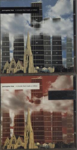 Porcupine Tree 4 Chords That Made A Million 2-CD single set (Double CD single) UK PCU2SCH373511