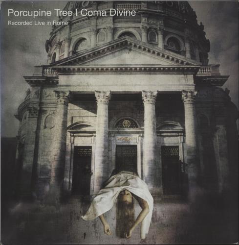 Porcupine Tree Coma Divine 3-LP vinyl record set (Triple Album) Dutch PCU3LCO672916