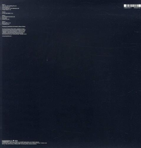 Porcupine Tree Up The Downstair 2-LP vinyl record set (Double Album) UK PCU2LUP767595