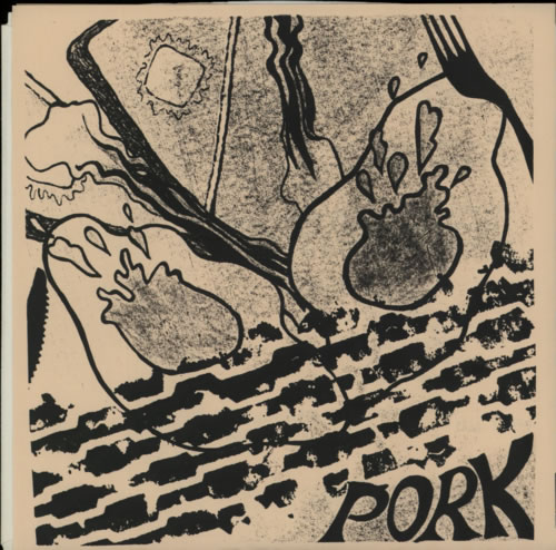 "Pork Wanna Ride EP 7"" vinyl single (7 inch record) US P9R07WA623631"