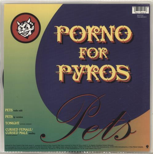 "Porno For Pyros Pets 12"" vinyl picture disc 12inch picture disc record UK POR2PPE19089"