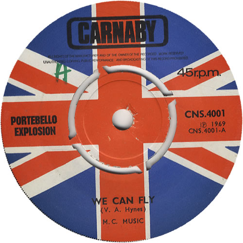 "Portebello Explosion We Can Fly 7"" vinyl single (7 inch record) UK PG207WE449846"