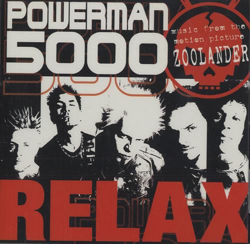 """Powerman 5000 Relax CD single (CD5 / 5"""") US P50C5RE200083"""