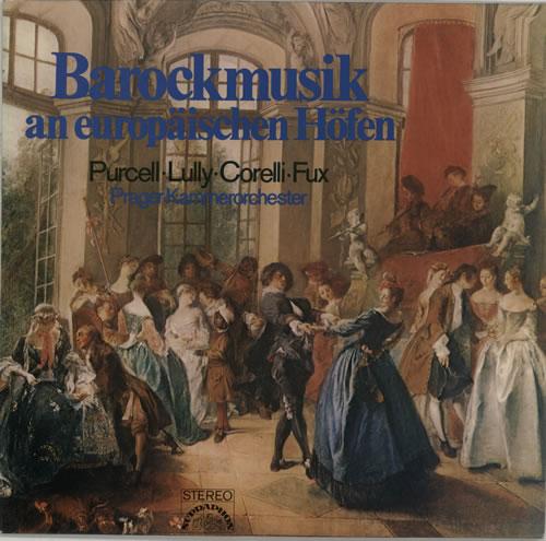 Prager Kammerorchester Barockmusik An Europäischen Höfen vinyl LP album (LP record) German P9ALPBA641321