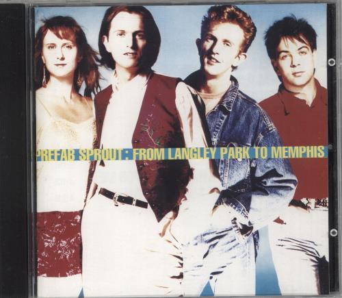Prefab Sprout From Langley Park To Memphis CD album (CDLP) Australian PRECDFR729463