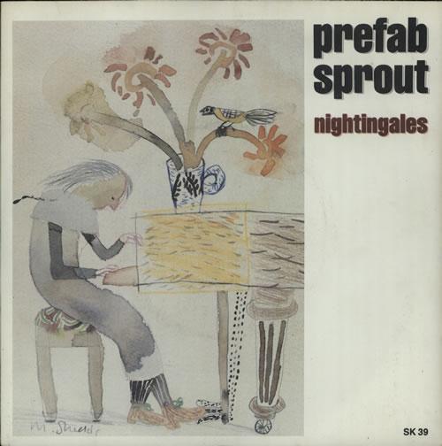 "Prefab Sprout Nightingales 7"" vinyl single (7 inch record) UK PRE07NI34533"