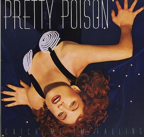 Pretty Poison Catch Me I'm Falling vinyl LP album (LP record) UK PRPLPCA388668