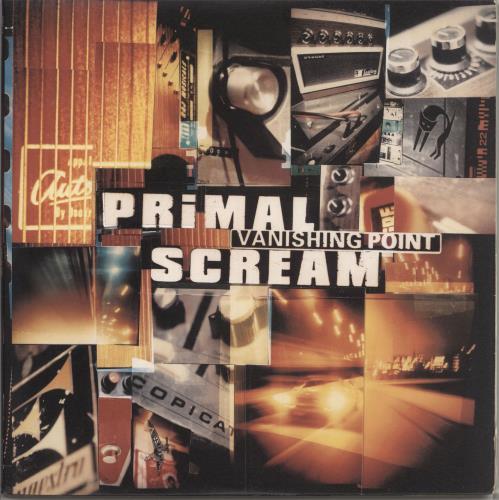 Primal Scream Vanishing Point - EX 2-LP vinyl record set (Double Album) UK PML2LVA734179