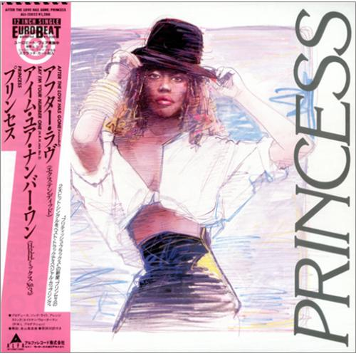 "Princess After The Love Has Gone 12"" vinyl single (12 inch record / Maxi-single) Japanese PCS12AF418886"